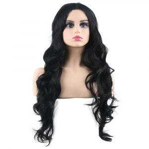 Long Body Wave Wig for Women Natural Middle Part Synthetic Wig - naturehairs