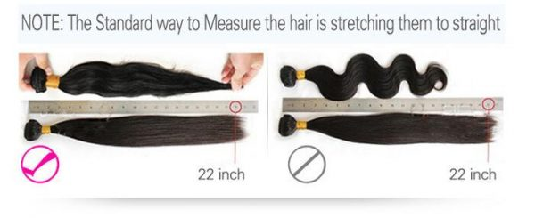 Malaysian Straight Human Lace Closure Free/Middle/Three Part 4*4 Closures - naturehairs