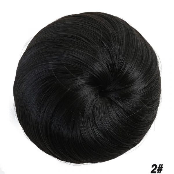 9 colors Hair Chignon for Women Girls Synthetic Donut - naturehairs