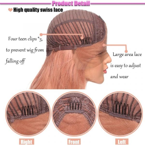 Synthetic Lace Front Wig Long Wavy Wigs For Women - naturehairs