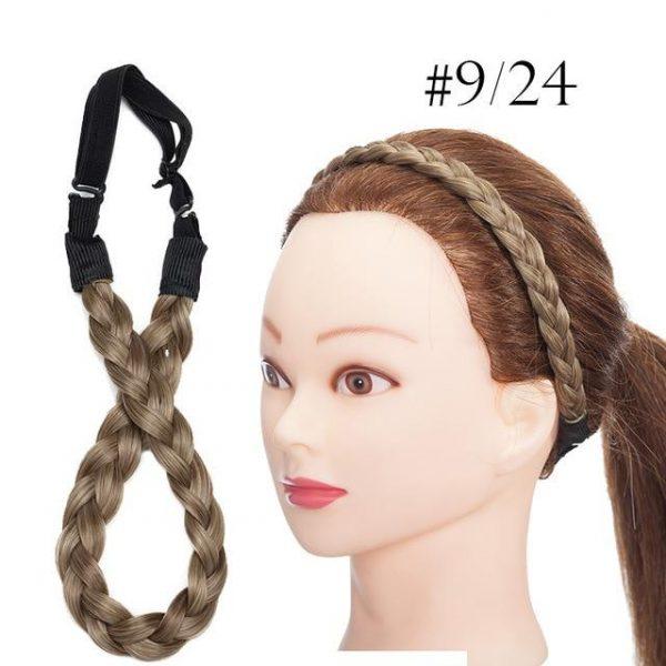 Braided Headbands For Women Plaited Hair Band Braiding Hair - naturehairs