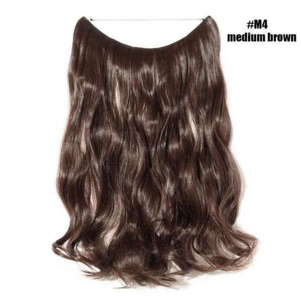 Halo Hair Extensions Invisible Wire No Clips In Hair Extension - naturehairs