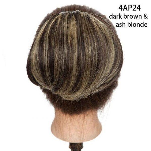 Scrunchy Hair Bun Clip In Extension Hair - naturehairs