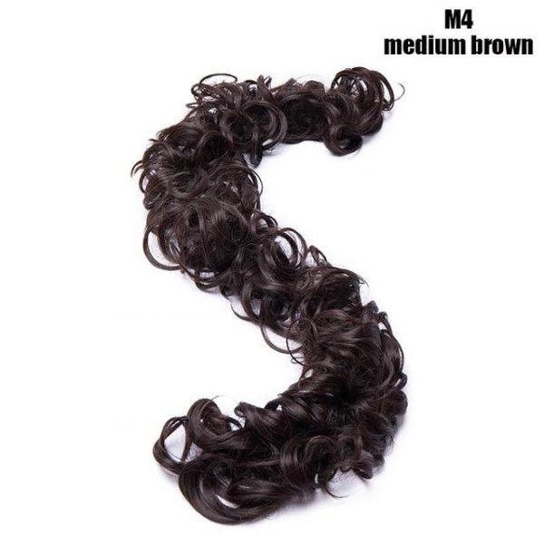Chignon Messy Hair Bun for Women - naturehairs