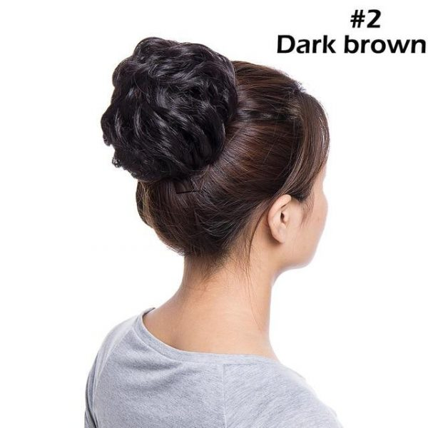 Messy Bun Chignon Hair Extension Updo Donut Hairpiece for Women - naturehairs