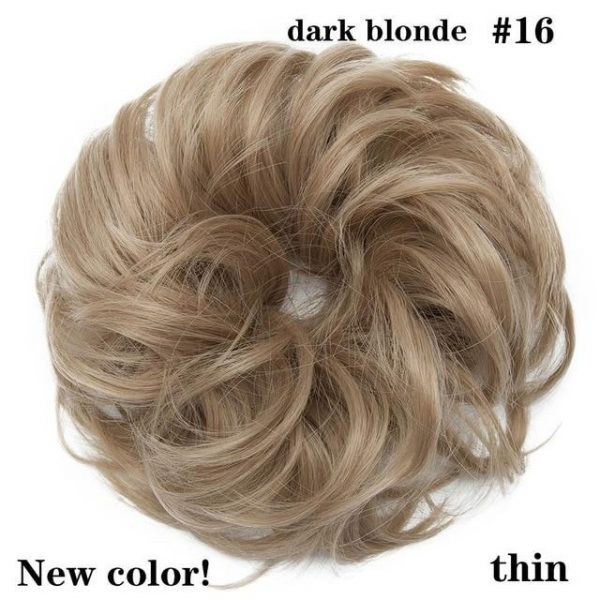 Messy Bun Hair Chignons Hair Synthetic HairPiece - naturehairs