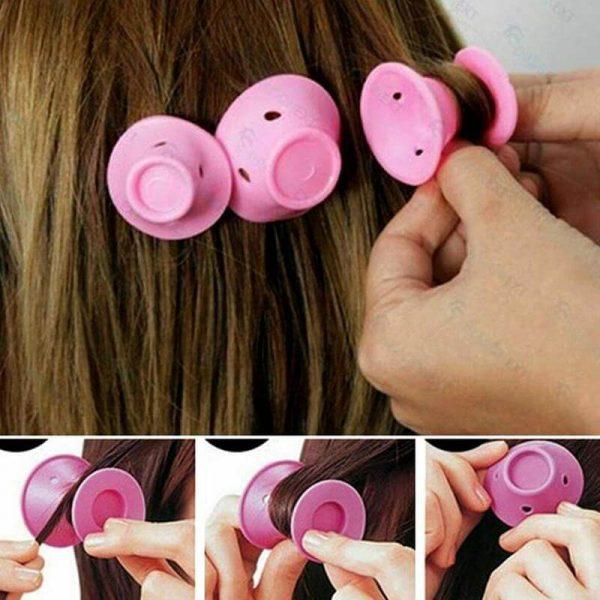 10pcs Magic Silicone Hair Curler Hair Rollers - naturehairs