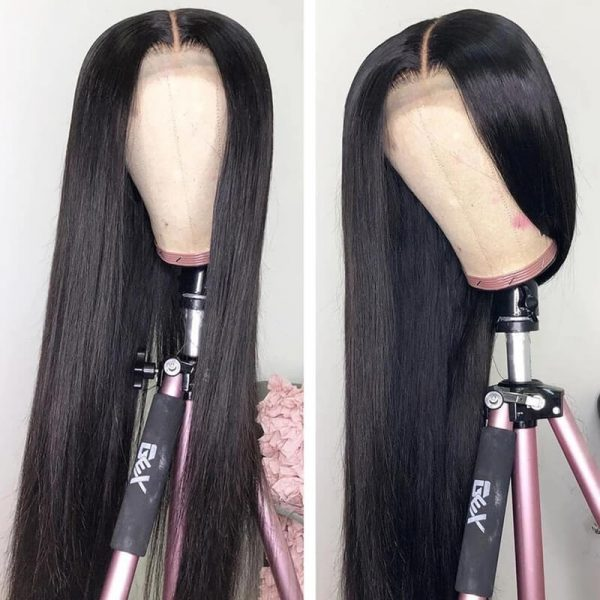 13x6x1 Straight Human Hair Wigs Lace Front Wig With Baby Hair (3)