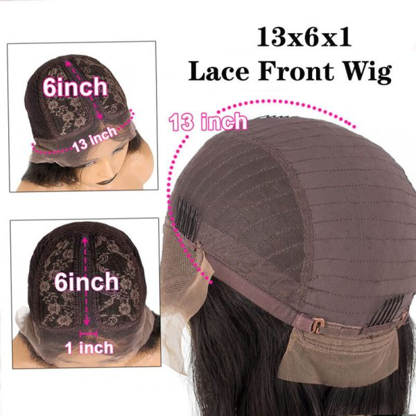 13x6x1 Straight Human Hair Wigs Lace Front Wig With Baby Hair (5)