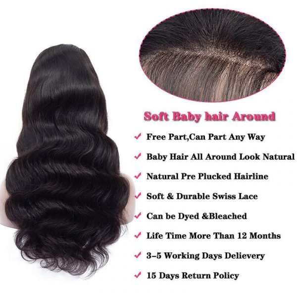 13×4 Body Wave Lace Front Wigs (6)