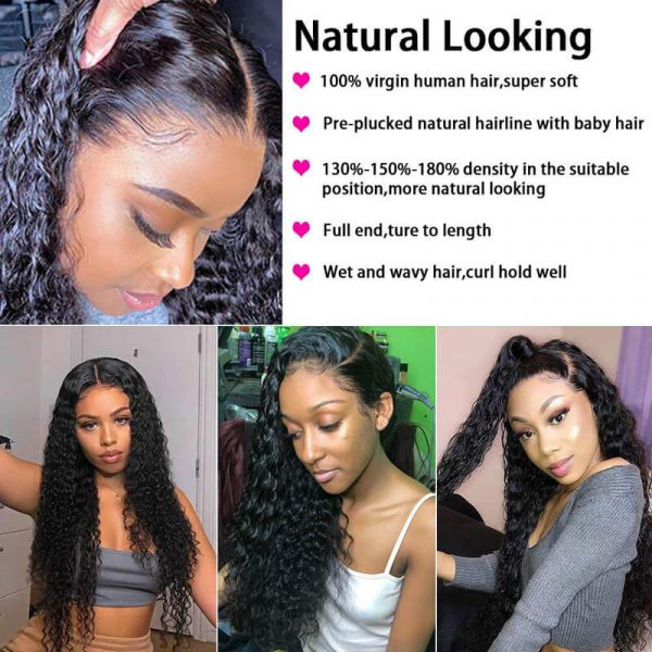 Curly Lace Front Wigs (5)