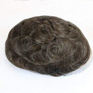 Human Hair Mens Toupee