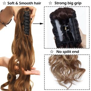 Claw Clip On Ponytail Hair Extension