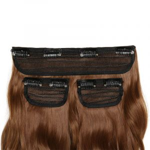 190G Long Synthetic Hair Clip In Hair Extension