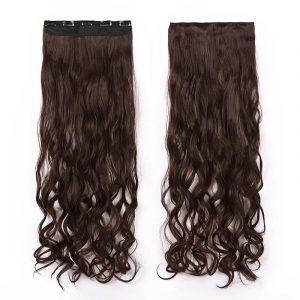 Women's Long Wavy Clip In Hairpiece