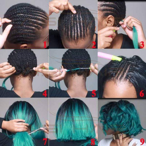 Ombre Tone Jumbo Braiding Hair