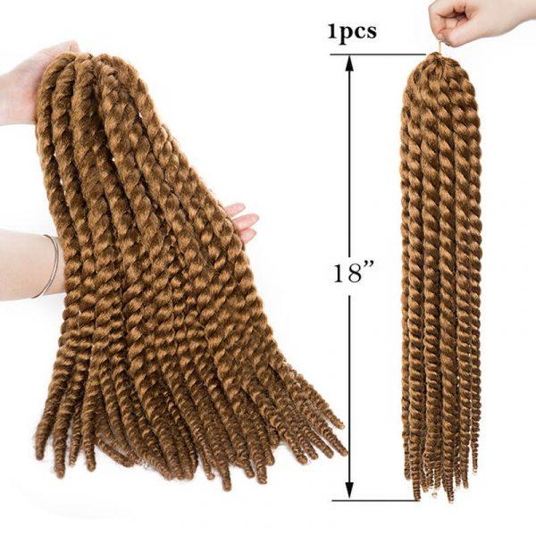 Synthetic 18inch Twist Hair Crochet Braids