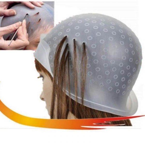Silicone Hair Colouring Highlighting Dye Cap