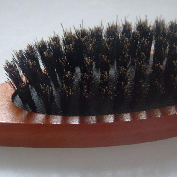 Natural Boar Bristle Hairbrush Massage Comb